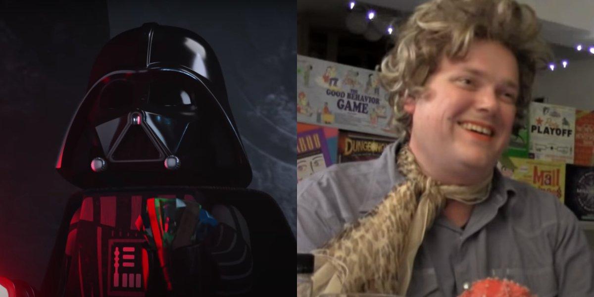 Darth Vader in LEGO Star Wars Holiday Special; Matt Sloane on Beer & Board Games