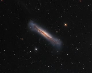 NGC 3628 Hamburger Galaxy Fera