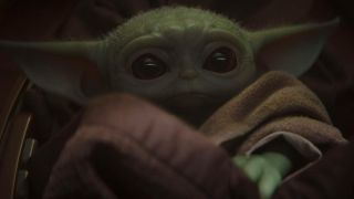 """Baby Yoda from """"The Mandalorian."""""""