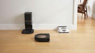 iRobot Roomba s9+ and Braava Jet m6
