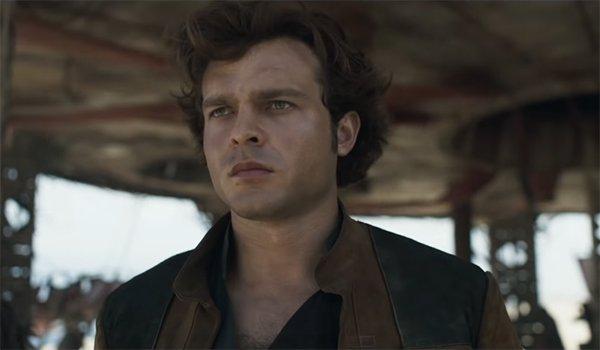 Alden Ehrenreich's Han Solo in Solo: A Star Wars Story