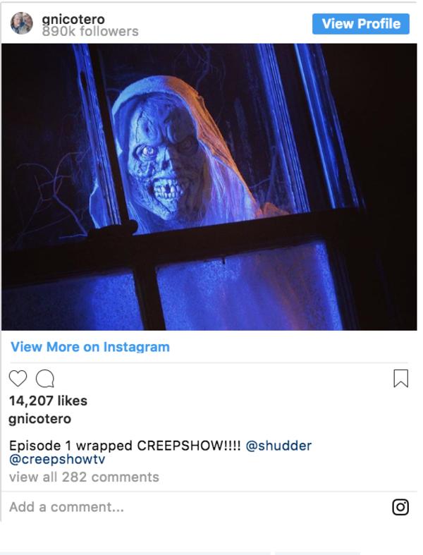 Greg Nicotero Creepshow Shudder