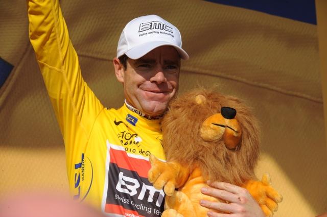Cadel Evans, Tour de France 2010, stage 8