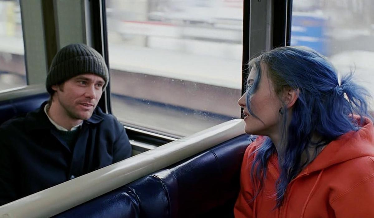 Jim Carrey and Kate Winslet in Eternal Sunshine
