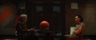Owen Wilson and Tom Hiddleston as Agent Mobius and Loki in 'Loki.'