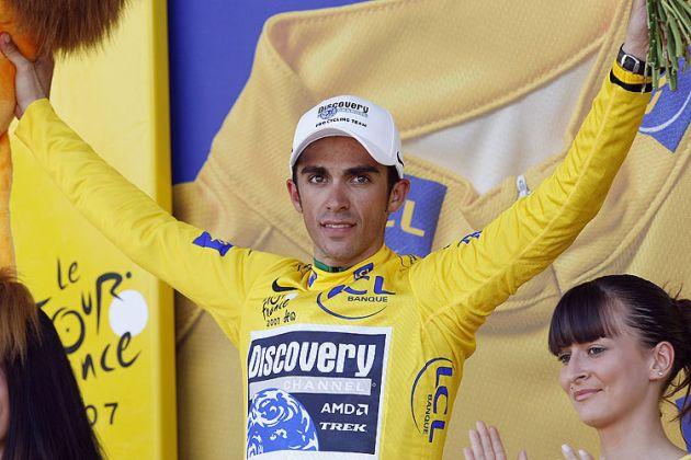 Alberto Contador Tour de France 2007 st 17