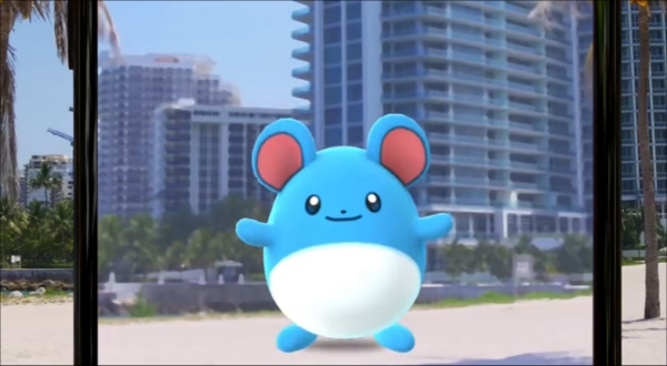 Pokemon Go Gen 2 Marill