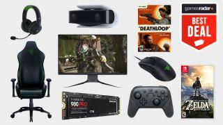 gaming deals on deathloop, ps5 ssd, nintendo switch games