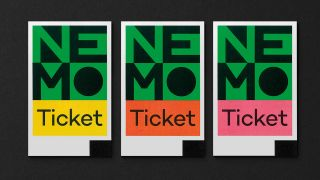 Ambitious design: Studio Dumbar Nemo ticket
