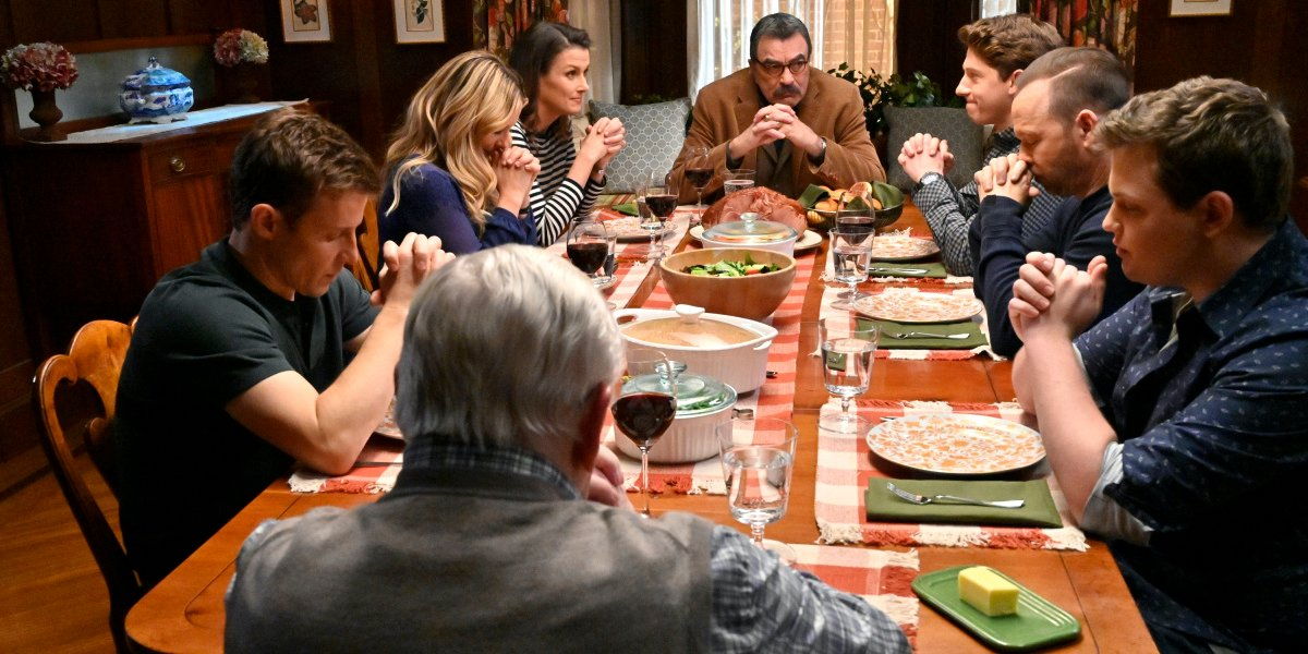 blue bloods cbs season 11 reagan family dinner