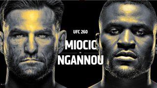 UFC 260 live stream Miocic vs Ngannou 2