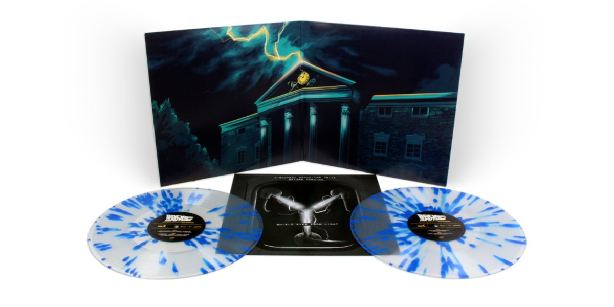 Back To The Future Original Soundtrack Gatefold Double LP