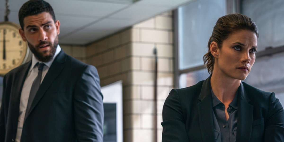 Missy Peregrym and Zeeko Zaki in FBI on CBS
