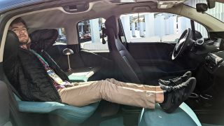 BMW i3 Urban Space concept car at CES 2020