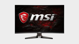 Get a cheap monitor deal today with more than $100 off this curved MSI beauty