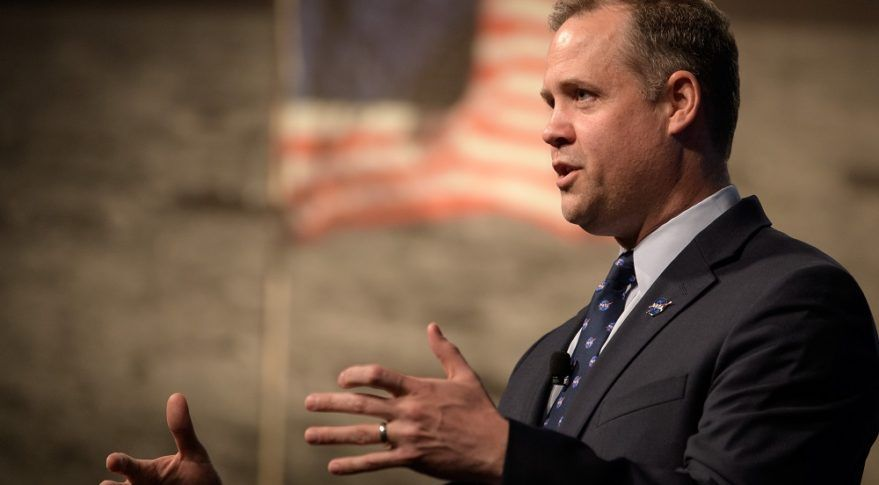 NASA Chief Says Leadership Changes Linked to Urgency in Exploration Programs