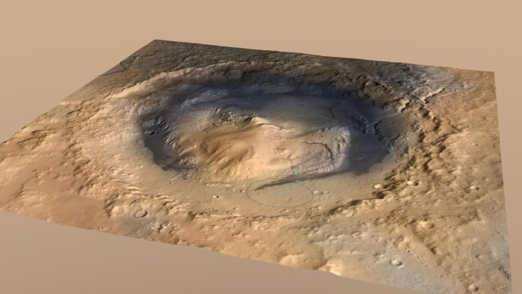 The water on Mars didn't run dry all at once, study finds