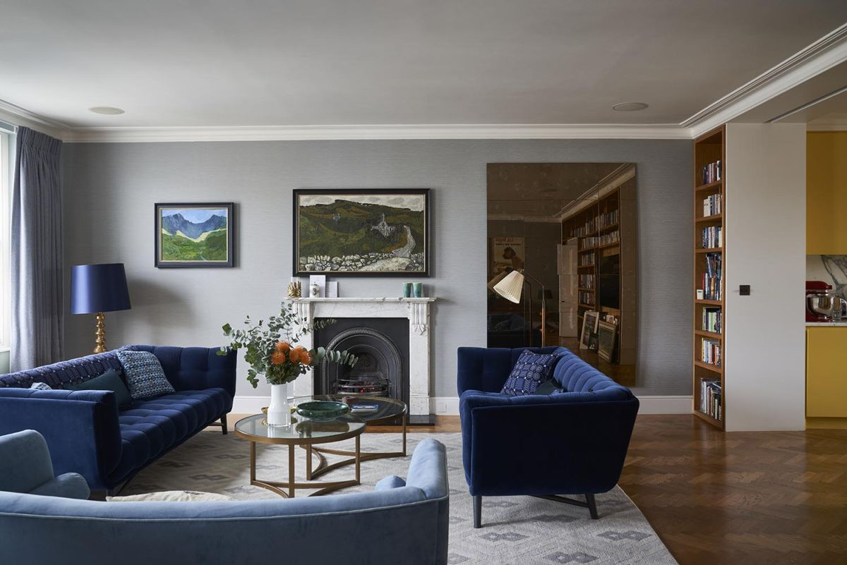 Explore a Kensington apartment full of personality and charm