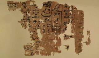 oldest egypt papyri