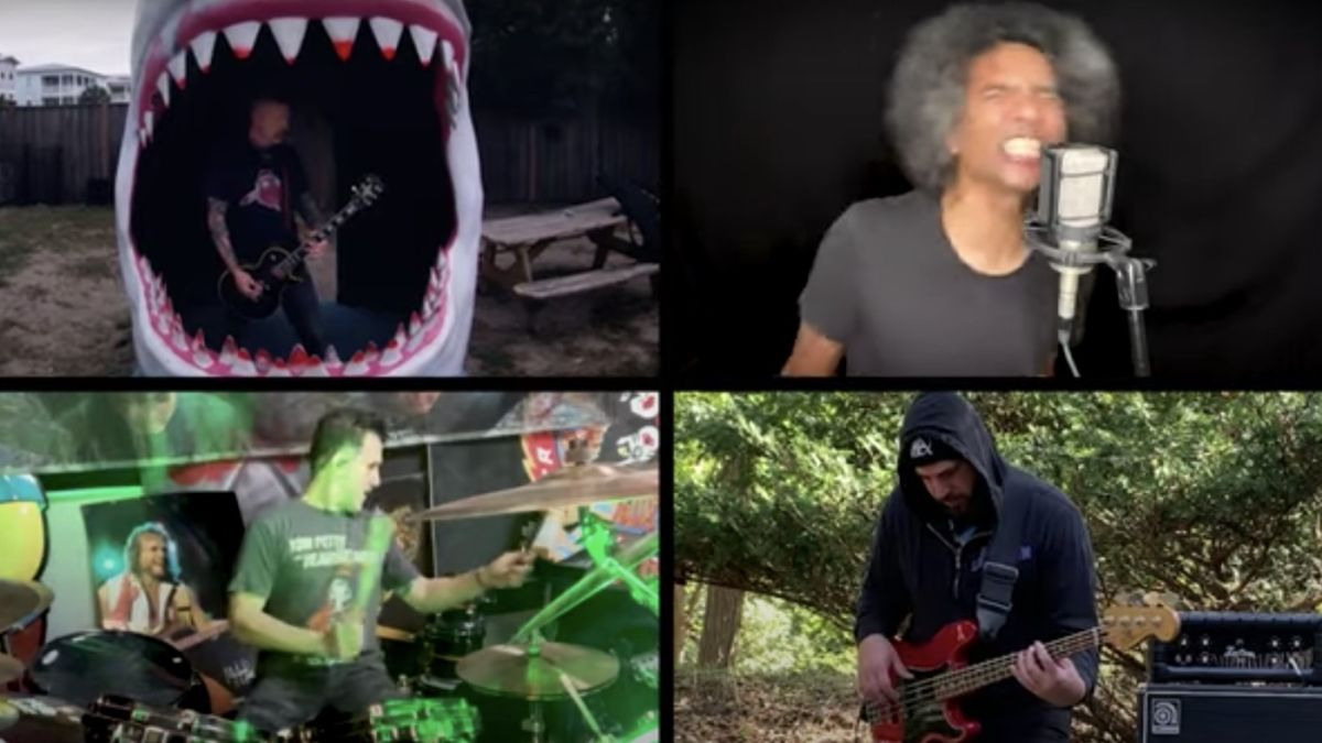 Watch Alice In Chains/Mastodon/Anthrax supergroup smash a cover of Soundgarden's Rusty Cage