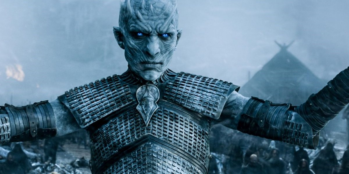 Game of Thrones The Night King Hardhome come at me crow HBO