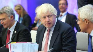 Image of Boris Johnson by Annika Haas