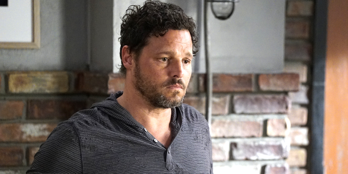 Grey's Anatomy Alex Karev disheveled Season 16 premiere ABC
