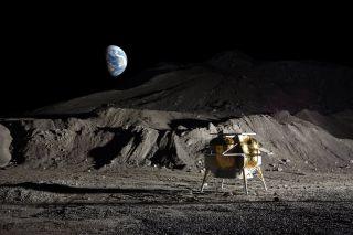 Astrobotic's Peregrine Moon Lander