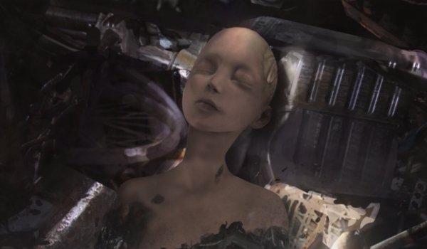 Alita: Battle Angel Alita in the junk heap