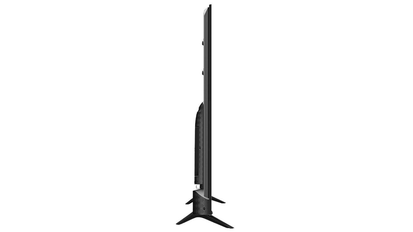 A side view of the Hisense U6G ULED TV