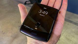 New foldable Motorola Razr