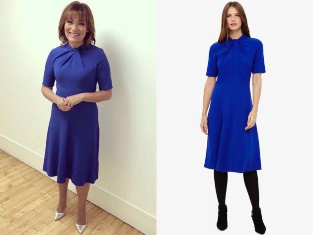 37fd0eb9 22nd January 2018, Phase Eight Dress. Lorraine Kelly Dress