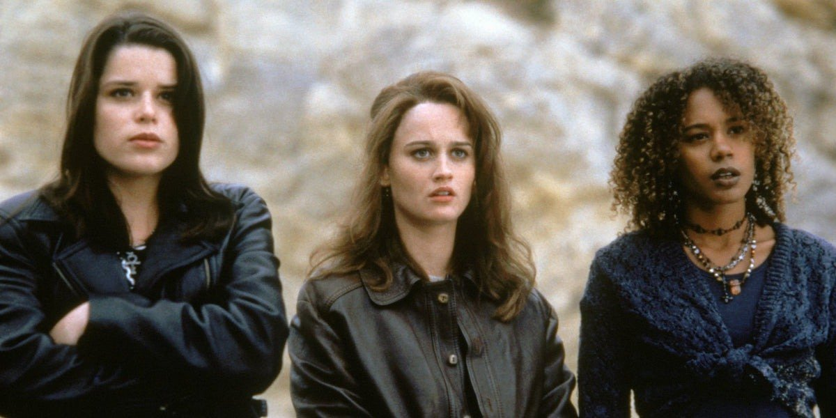 Some of the main characters from The Craft.