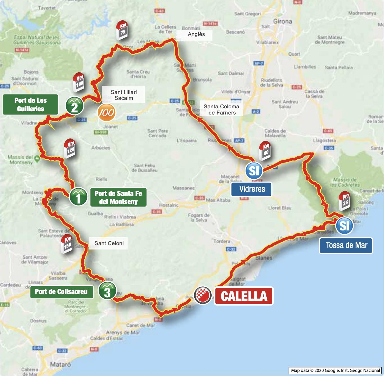 Volta a Catalunya 2021 stage 1