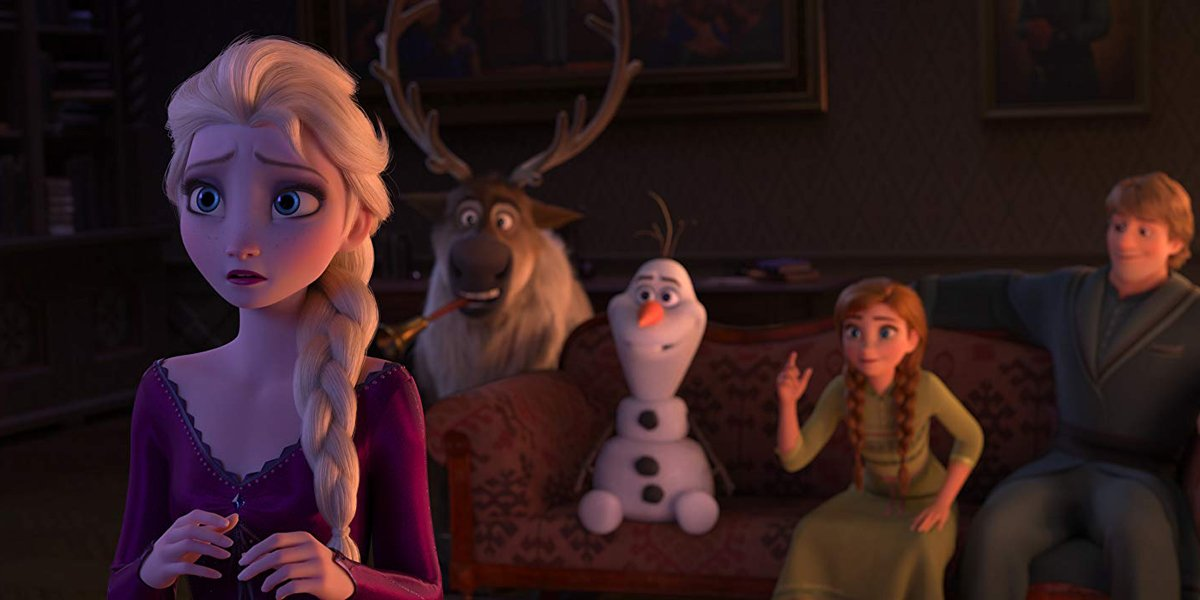 Anna, Elsa, Kristoff, Sven and Olaf Play Charades in Frozen II