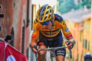 Strade Bianche 2020 - 14th Edition - Siena - Siena 184 km - 01/08/2020 - Wout Van Aert (BEL - Team Jumbo - Visma) - photo Dario Belingheri/BettiniPhoto©2020