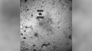 The Hayabusa2 craft touched down on the asteroid Ryugu on Feb. 22, 2019.