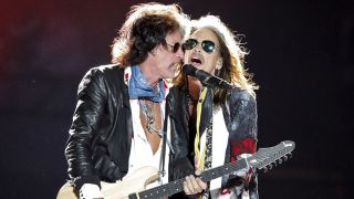 Aerosmith's Joe Perry and Steven Tyler