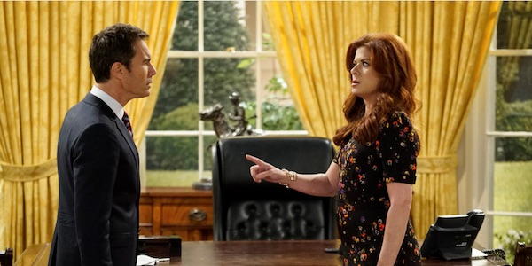 Will and Grace in the Oval Office
