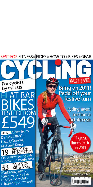 Cycling Active Cover Feb 2011