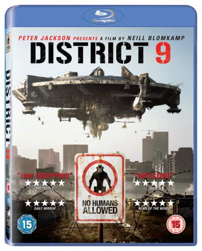 District 9 - Win a copy of the sci-fi thriller on Blu-ray
