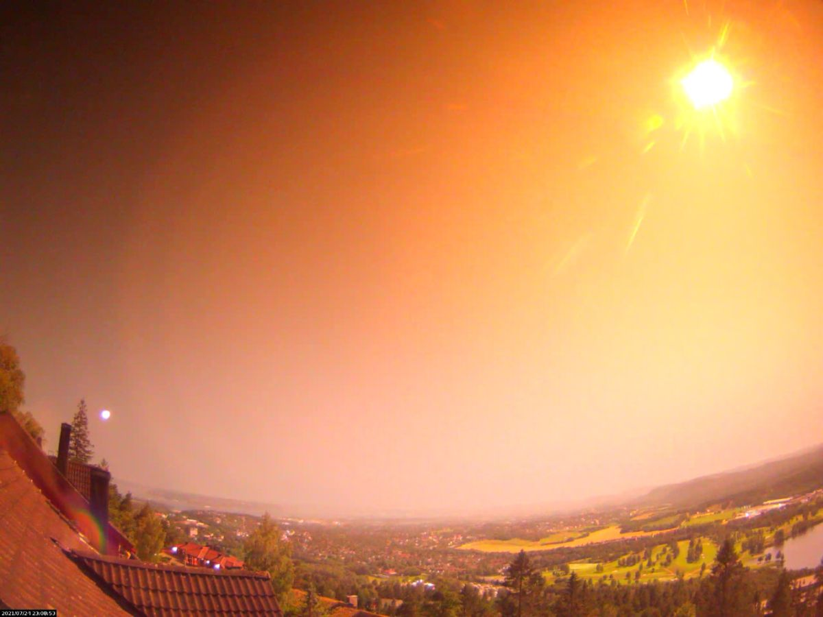 Flashing meteor that exploded over Norway landed someplace in a close-by forest