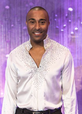 Colin Jackson is skating for gold!