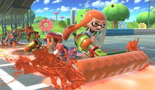 Inkling Girl in Super Smash Bros. Ultimate