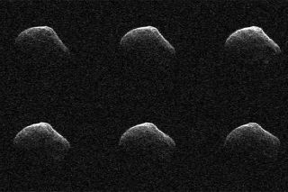 Radar images of comet P/2016 BA14