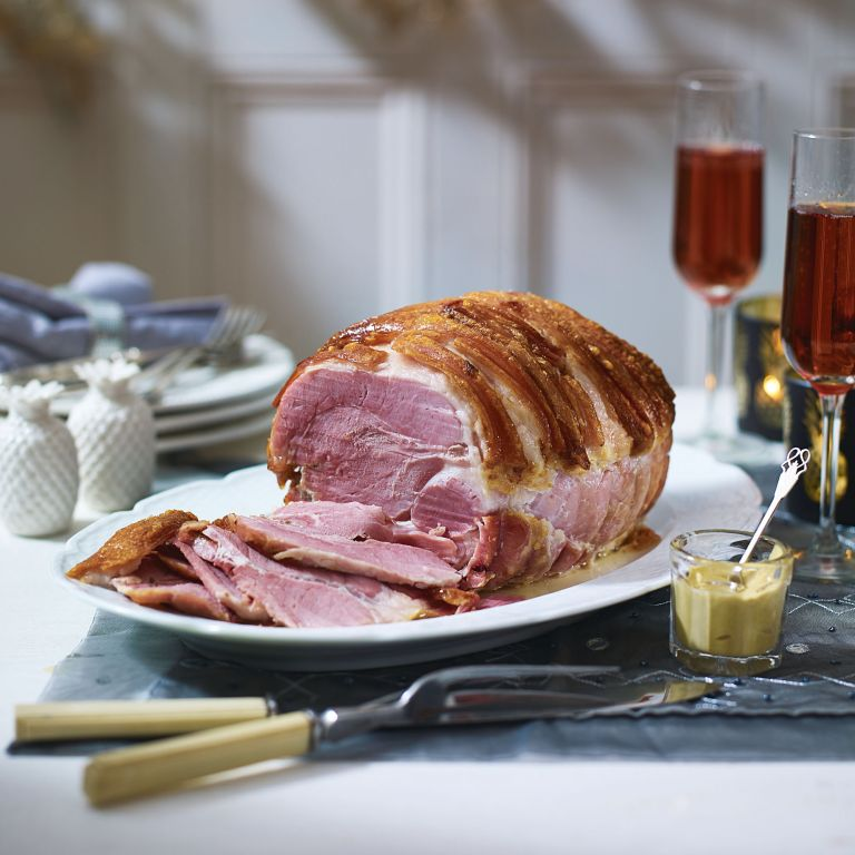 Roast Ham With Crackling