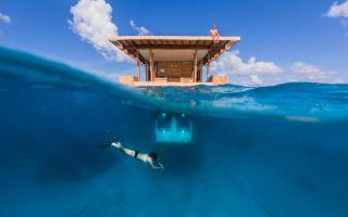 The Manta Resort Underwater Room