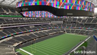 SoFi Stadium Finishes Largest Samsung Videoboard in Sports