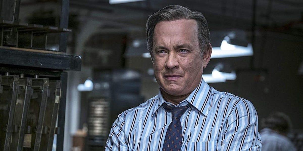 Tom Hanks in The Post