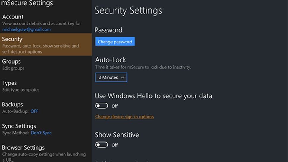 mSecure 6